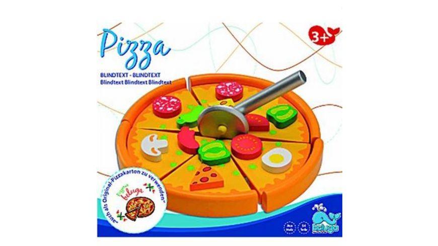 Beluga Pizza aus Holz
