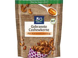 BIO PRIMO Gebrannte Cashewkerne mit Karamellueberzug