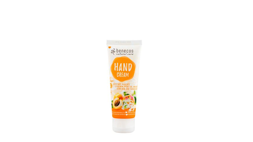 BENECOS Natural Hand Cream Aprikose Holunderbluete
