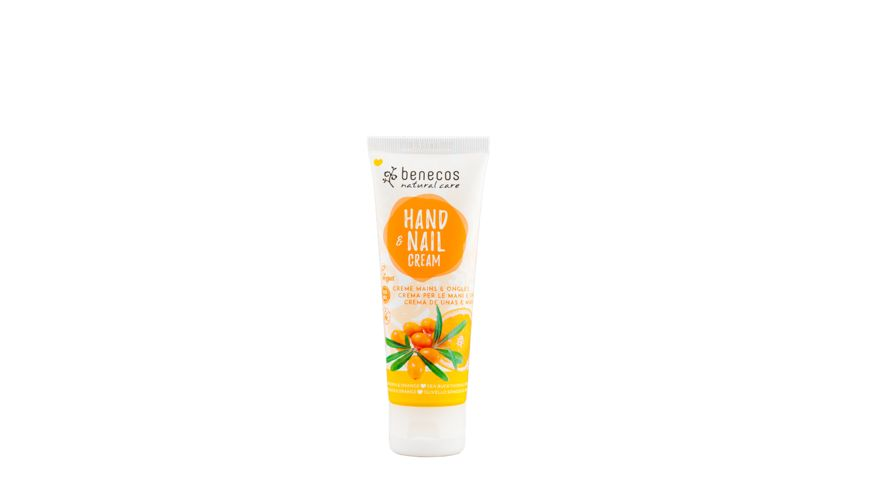 BENECOS Natural Hand Nail Cream Sanddorn Orange