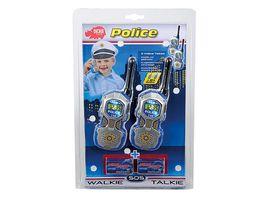 Dickie Walkie Talkie Polizei