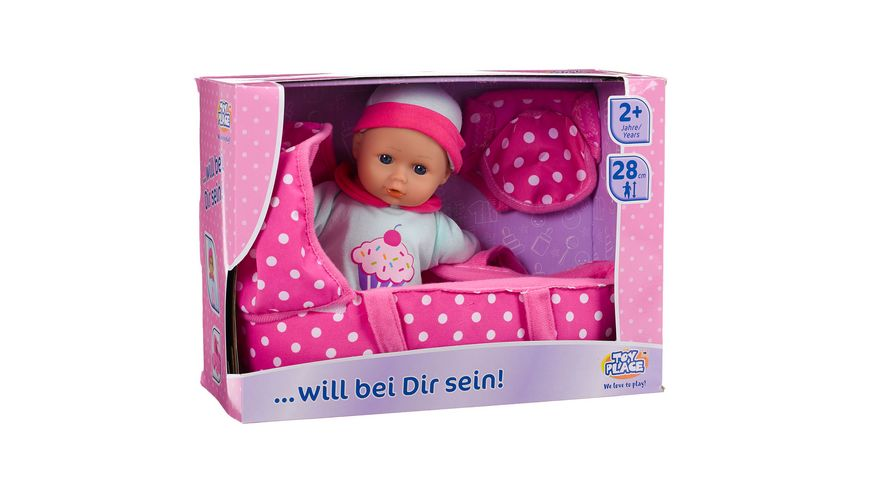 "Müller - Toy Place - Puppe ""Baby will bei Dir sein"""