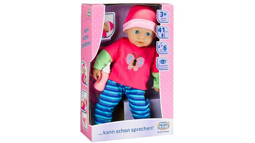 Mueller Toy Place Puppe kann schon sprechen