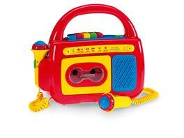 Mueller Toy Place Kassettenrecorder mit zwei Mikrofonen