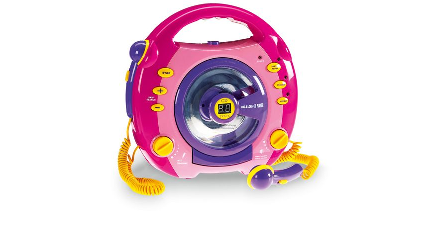 Mueller Toy Place CD Player mit Mikrofon