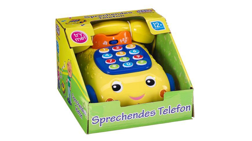 Müller - Toy Place - Sprechendes Telefon mit Musik und Zahlen