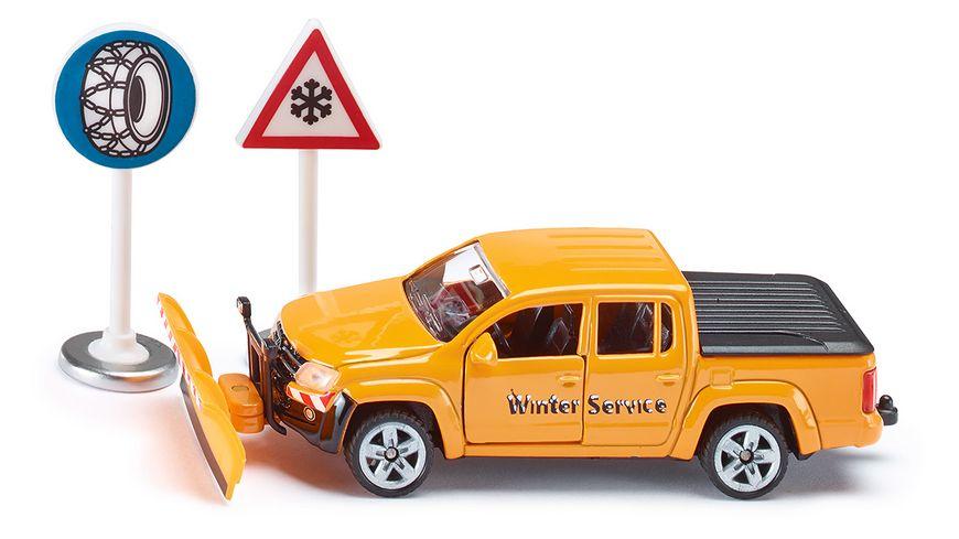 SIKU 2546 Super VW Amarok Winterdienst
