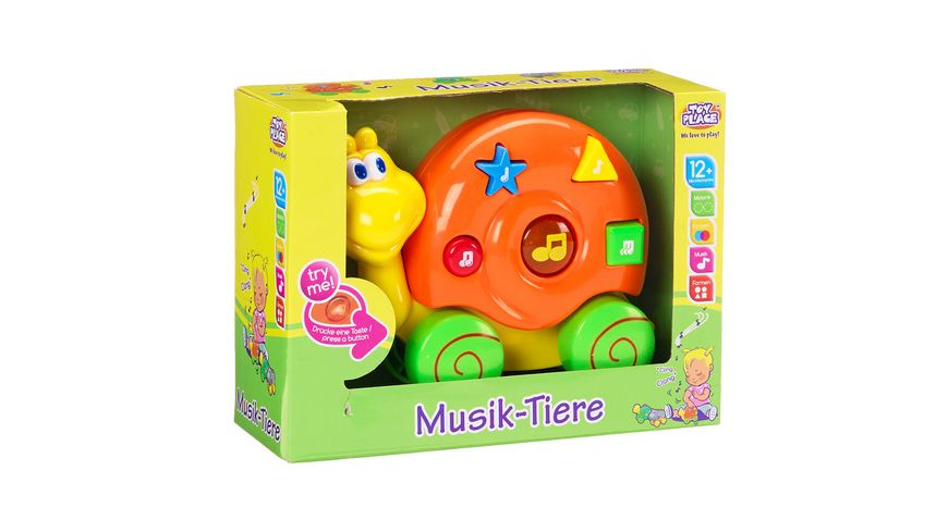 Mueller Toy Place Musik Tiere 1 Stueck sortiert