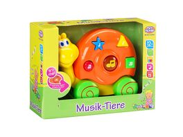 Mueller Toy Place Musik Tiere 1 Stueck sortiert