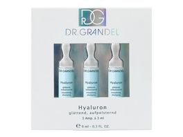 DR GRANDEL Ampullen Hyaluron Serie Professional Collection