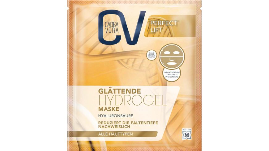 CV PERFECT LIFT Glaettende Hydrogel Maske