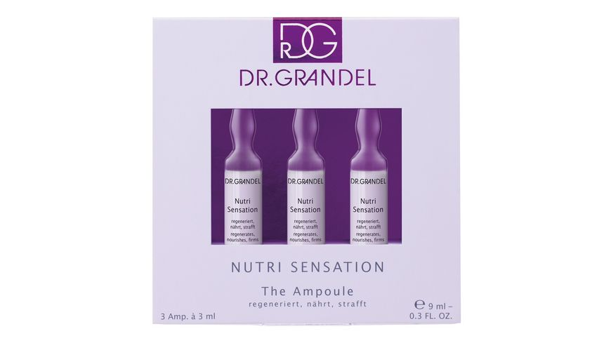 DR GRANDEL Ampulle Serie Nutri Sensation