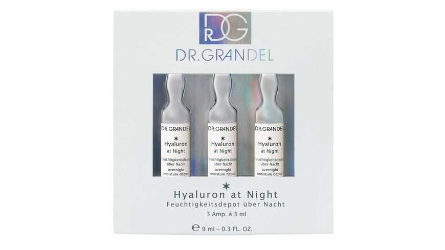 DR GRANDEL Ampullen Hyaluron At Night