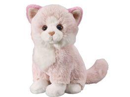 Bauer Deine Tiere mit Herz Katze rosa 18cm sitzend