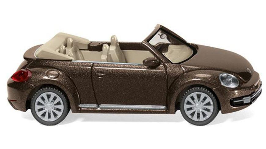 WIKING 0028 02 VW The Beetle Cabrio toffeebraun metallic 1 87