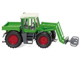 WIKING 038003 Fendt Xylon mit Ballengreifer 1 87