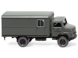 WIKING 0852 38 Fernmeldedienst Koffer Lkw MB Kurzhauber 1 87