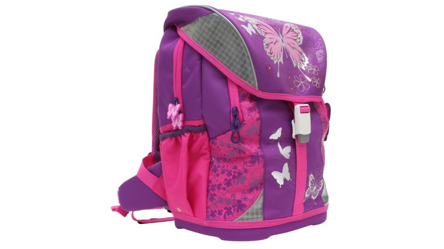 in school Premium Schulranzen Set 5tlg Butterfly
