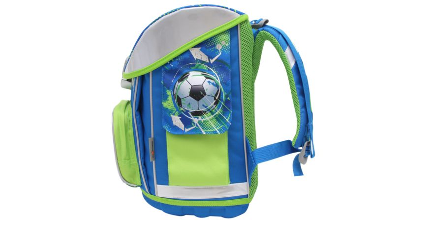 in school Schulranzen Set 5tlg Football