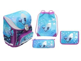 in school Schulranzen Set 5tlg Mermaid