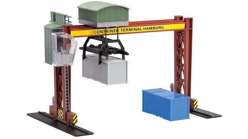 Faller 131368 H0 Containerbrueckenkran