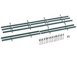 Faller 180535 H0 Leitplanken 32 Begrenzungspfaehle 1600 mm