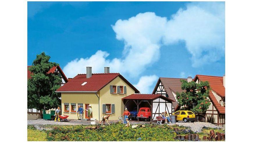 Faller 131358 H0 Siedlerhaus mit Anbau