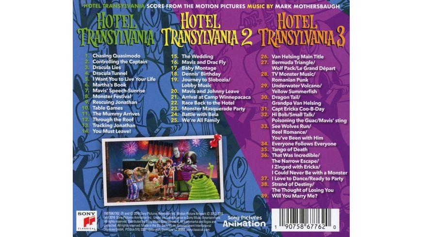 Hotel Transsilvanien 1 3 Score OST