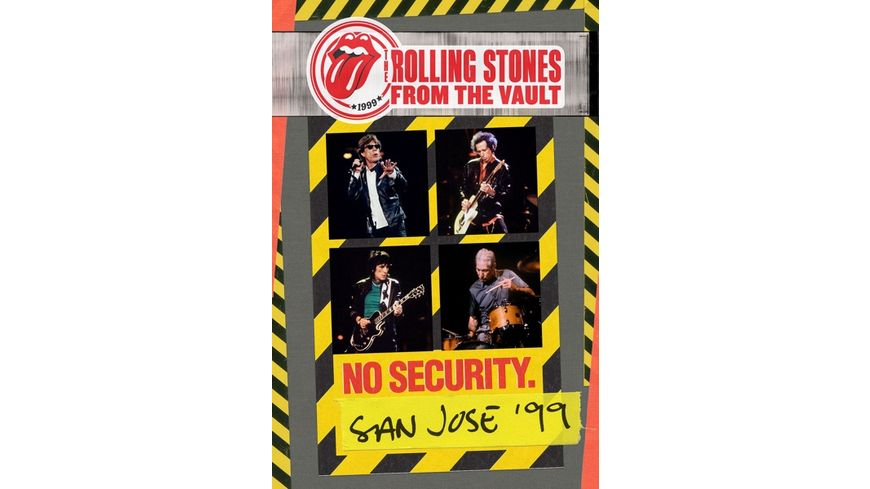 From The Vault No Security San Jose 1999 DVD