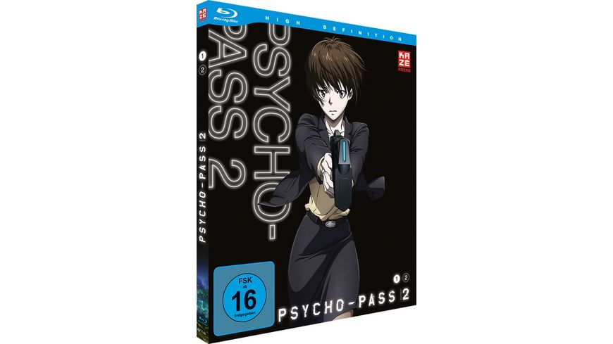 Psycho Pass 2 Staffel Box Vol 1