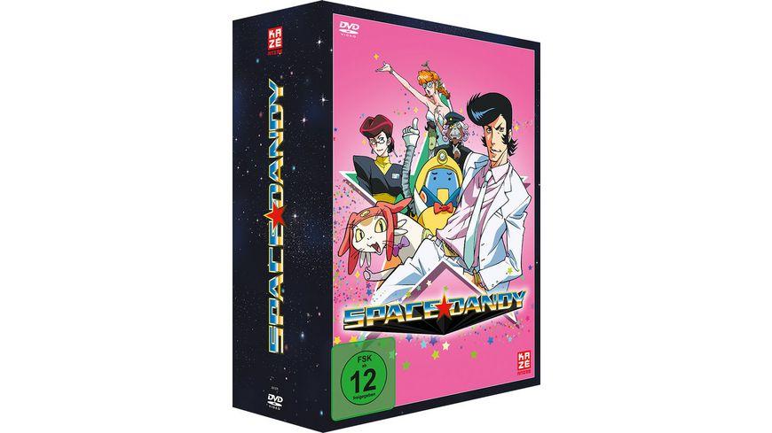 Space Dandy 2 Staffel Gesamtausgabe 4 DVDs