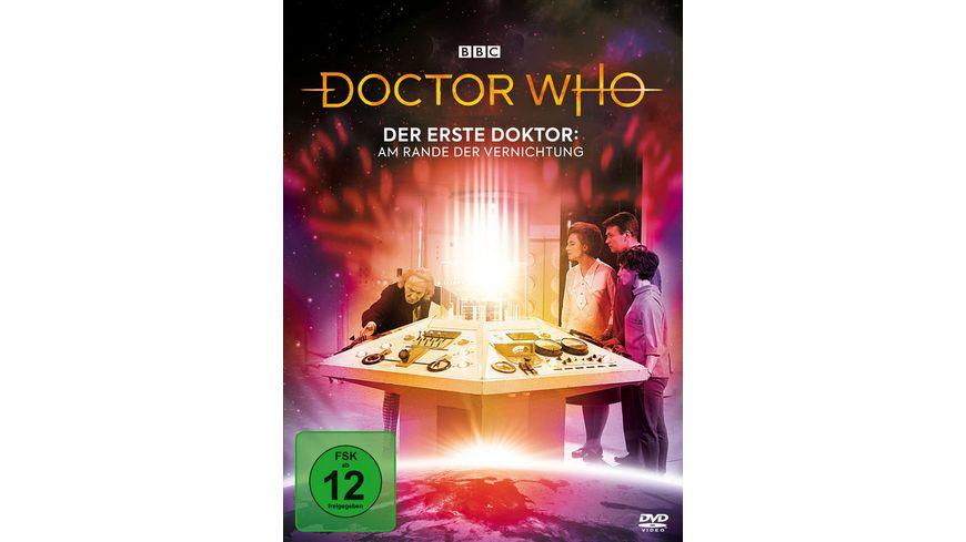 Doctor Who Der Erste Doktor Am Rande der Vernichtung Digipack Edition