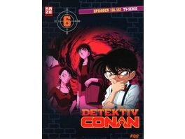 Detektiv Conan Die TV Serie DVD Box 6 Episoden 156 182 5 DVDs
