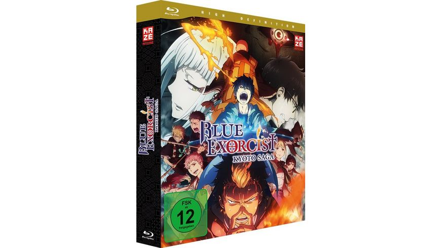 Blue Exorcist Kyoto Saga 2 Staffel Blu ray 1 mit Sammelschuber Limited Edition