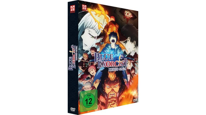 Blue Exorcist Kyoto Saga 2 Staffel DVD 1 mit Sammelschuber Limited Edition