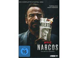 Narcos Staffel 3 4 DVDs