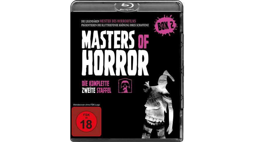 Masters of Horror Komplette Staffel 2 4 BRs