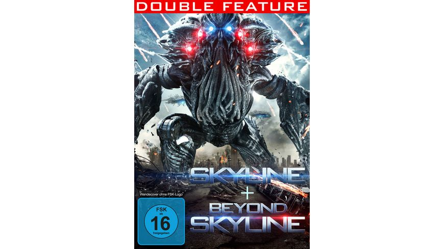 Skyline Beyond Skyline Double Feature 2 DVDs