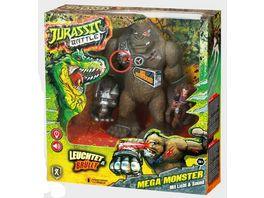 Xtrem Toys Jurassic Battle Mega Monster Beweglicher Kong mit Licht und Sound 23 cm