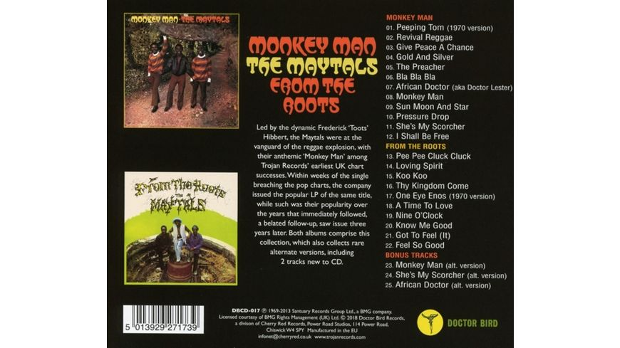 Monkey Man From The Roots Expanded Edition