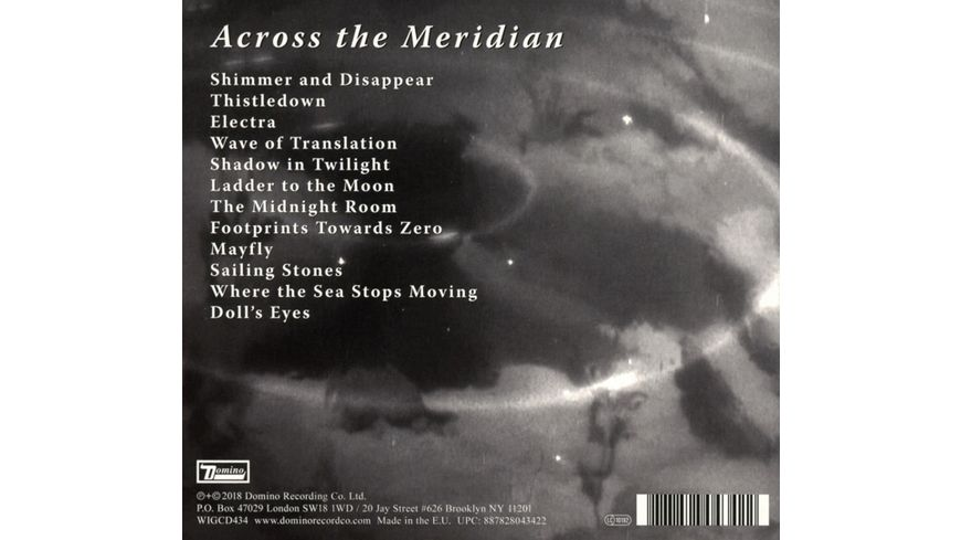 Across The Meridian Digipack