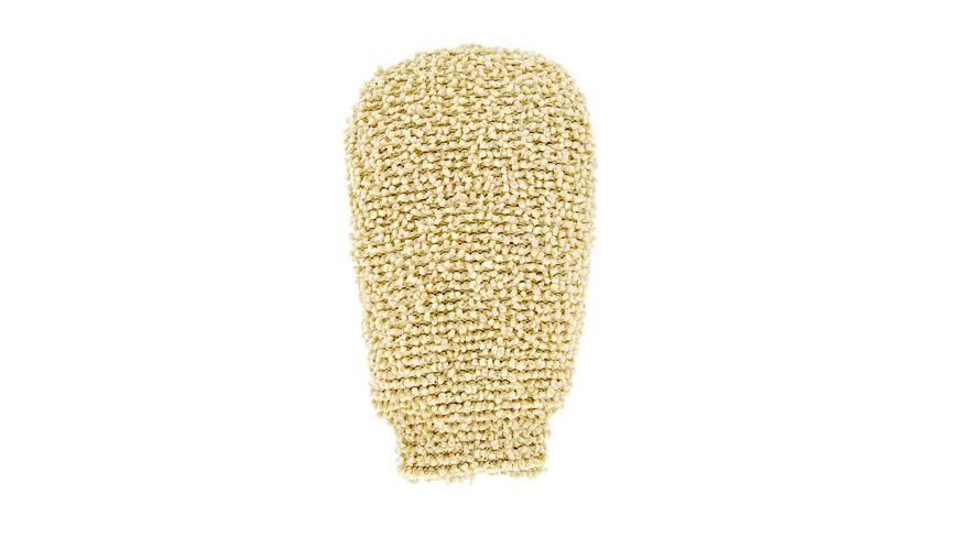 riffi Wellnesshandschuh aus Chenille Baumwolle