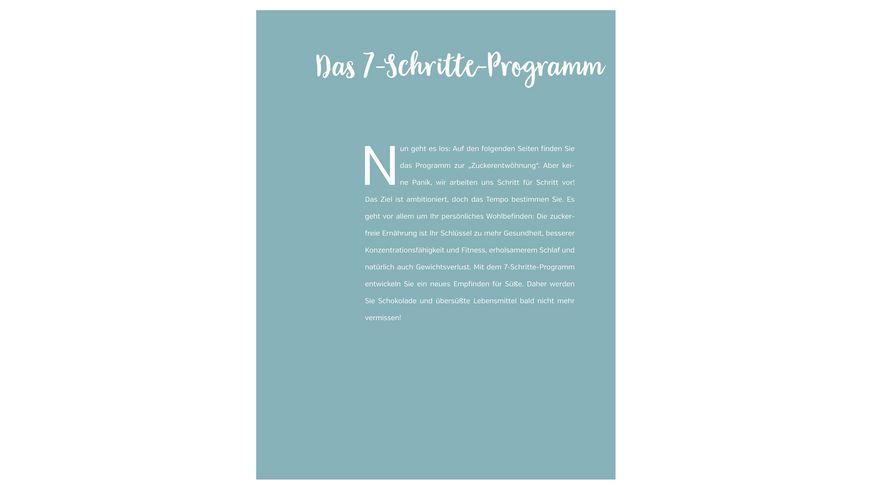 Projekt zuckerfrei Das 7 Schritte Entwoehnungsprogramm