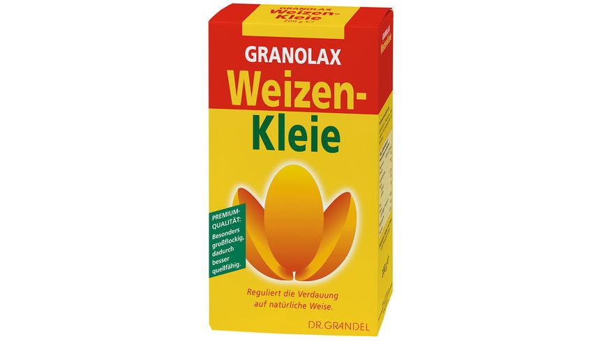 DR GRANDEL GRANOLAX Weizenkleie