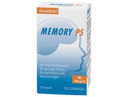 DR GRANDEL Memory PS