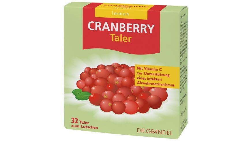DR GRANDEL CRANBERRY Taler