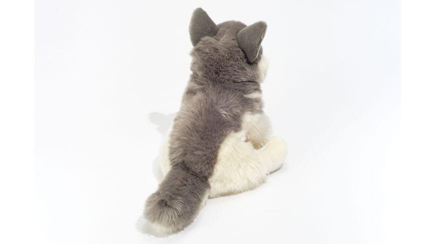 Teddy Hermann Husky sitzend 29 cm