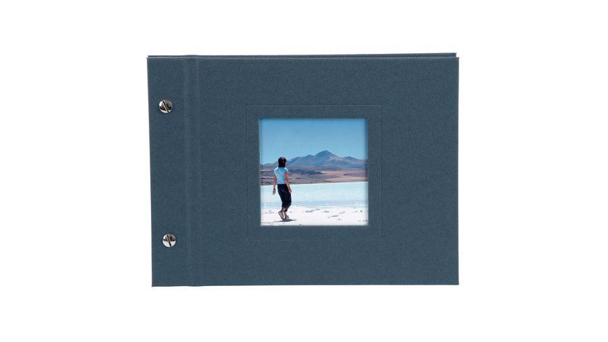 goldbuch Schraubalbum Natura dunkelblau 24x17 cm
