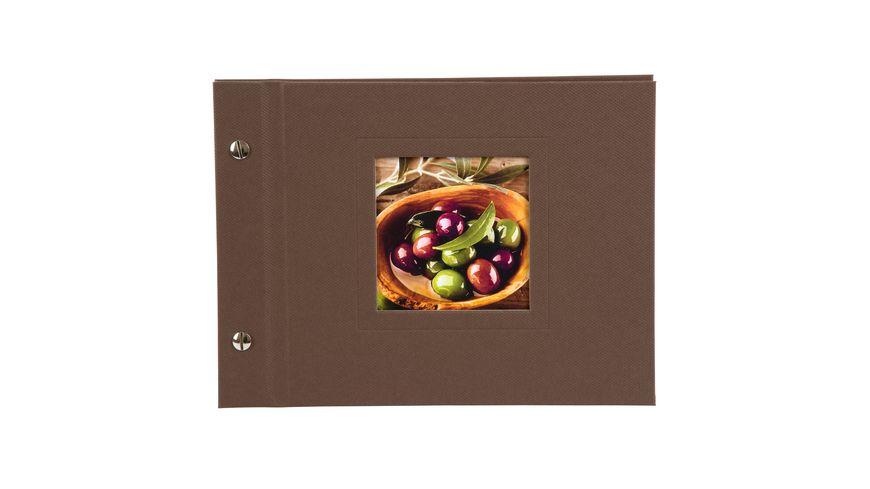 goldbuch Schraubalbum Natura cappuccino 24x17 cm
