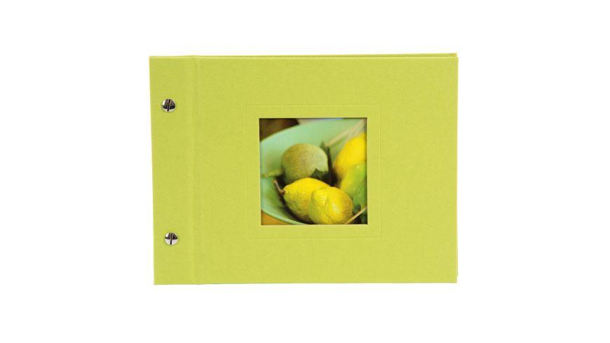 goldbuch Schraubalbum Natura gruen 24x17 cm